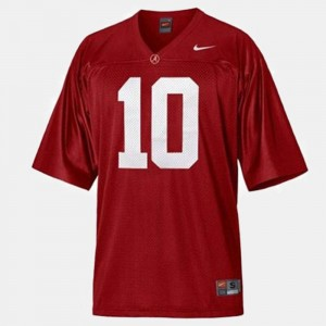 Youth A.J. McCarron Bama Jersey Red College Football #10