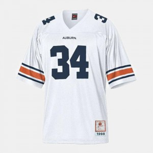 College Football Men's Bo Jackson Auburn Tigers Jersey White #34
