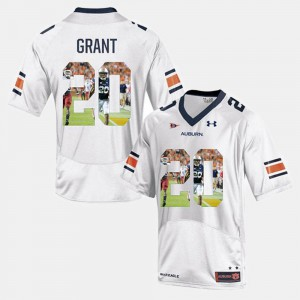 #2 White Throwback For Men's Cam Newton AU Jersey