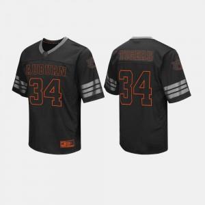 Auburn Jersey #34 Mens College Football Black