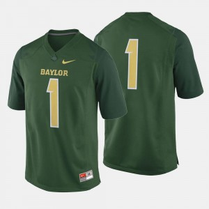 #1 For Men's BU Jersey College Football Green