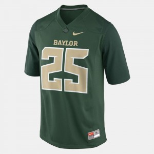 #25 Youth Lache Seastrunk Baylor University Jersey College Football Green