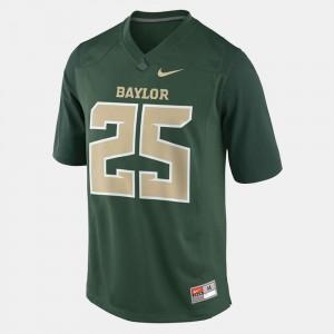 College Football #25 Mens Green Lache Seastrunk Baylor University Jersey