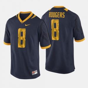College Football #8 Navy For Men's Aaron Rodgers University of California Jersey
