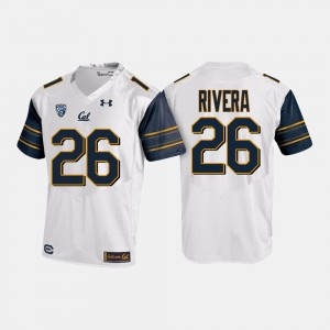 College Football White Bug Rivera Cal Jersey For Men's #26
