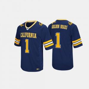 #1 Cal Golden Bears Jersey Hail Mary II Navy Men's