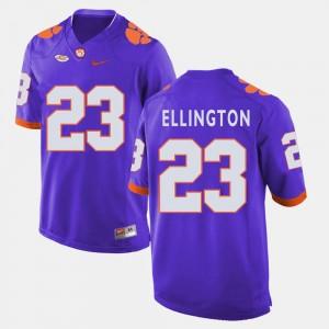 Purple For Men College Football #23 Andre Ellington CFP Champs Jersey