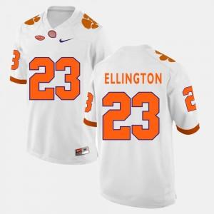 Andre Ellington Clemson University Jersey #23 White For Men College Football