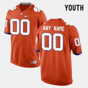 College Limited Football For Kids CFP Champs Customized Jersey #00 Orange