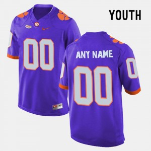 Youth(Kids) Purple #00 College Limited Football CFP Champs Customized Jersey