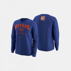 For Men's Florida Sweater College Football Retro Pack Royal Blue