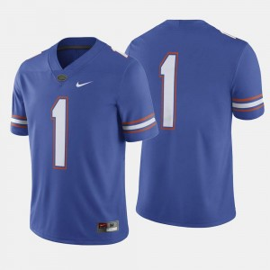 College Football For Men Royal Blue #1 Florida Jersey