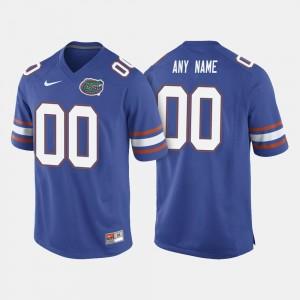 University of Florida Custom Jerseys #00 College Football Mens Royal Blue