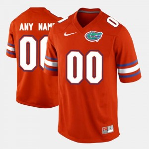 Florida Customized Jerseys College Limited Football #00 Orange Men