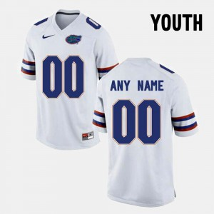 Florida State Seminoles Custom Jerseys College Limited Football Youth(Kids) #00 White