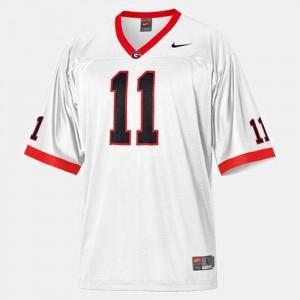 Aaron Murray UGA Bulldogs Jersey #11 College Football White Men's