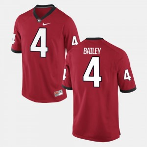 #4 Red Alumni Football Game For Men's Champ Bailey Georgia Jersey