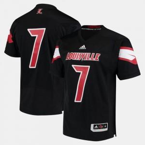 For Men's Cardinals Jersey 2017 Special Games #7 Black
