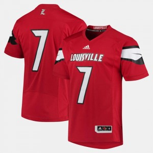 Louisville Jersey #7 Red Mens 2017 Special Games