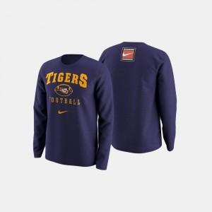 Purple College Football Retro Pack Tigers Sweater Mens