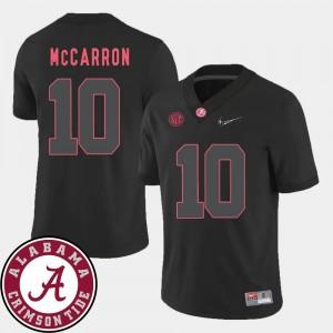 2018 SEC Patch Black Mens AJ McCarron Bama Jersey College Football #10