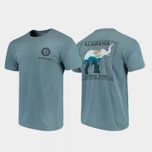 Comfort Colors State Scenery Bama T-Shirt Blue Men's