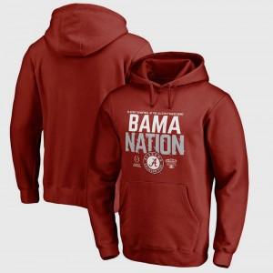 Men University of Alabama Hoodie College Football Playoff 2018 Sugar Bowl Bound Delay Crimson Bowl Game