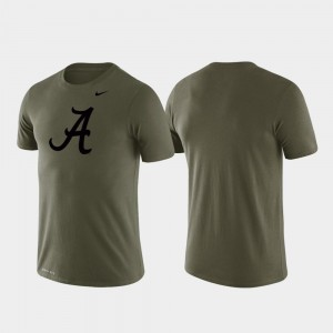 Bama T-Shirt Performance Tonal Logo Legend For Men's Green