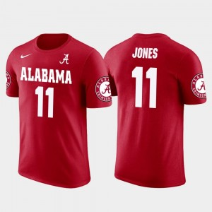 Future Stars Atlanta Falcons Football Julio Jones Bama T-Shirt Red #11 Men's