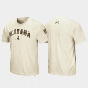 Bama T-Shirt Desert Camo Men's Oatmeal OHT Military Appreciation