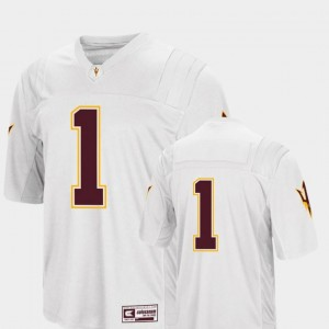 College Football #1 Men's White Colosseum 2018 Arizona State Jersey
