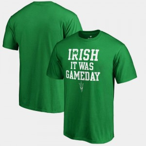 Kelly Green St. Patrick's Day Irish It Was Gameday Arizona State University T-Shirt For Men's
