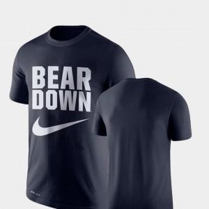 University of Arizona T-Shirt Navy For Men Legend Franchise Performance Nike