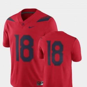 Men Arizona Wildcats Jersey 2018 Game Nike Red #18 College Football