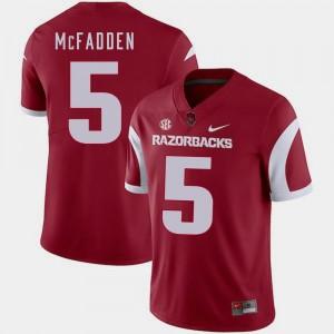 Cardinal Darren McFadden Arkansas Jersey Nike College Football #5 For Men's