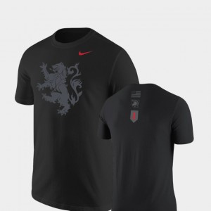Lion Nike Black Men United States Military Academy T-Shirt Rivalry