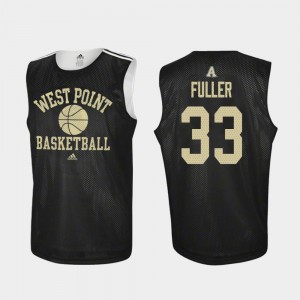 Adidas College Basketball Black Practice Cam Fuller United States Military Academy Jersey Men #33