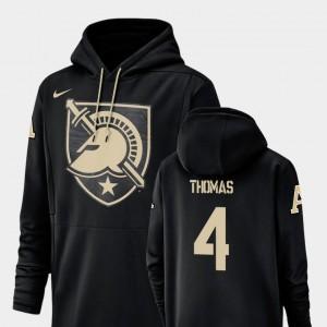 Champ Drive Black #4 Cam Thomas Army Hoodie Nike Football Performance For Men