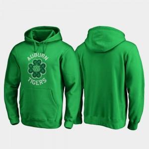 Auburn Hoodie Men's St. Patrick's Day Kelly Green Luck Tradition Fanatics Branded