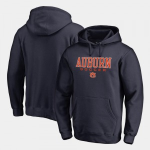 True Sport Navy Men Auburn Tigers Hoodie Soccer Fanatics