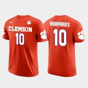 Future Stars For Men Tampa Bay Buccaneers Football #10 Orange Adam Humphries Clemson T-Shirt