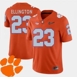 College Football Orange #23 Andre Ellington Clemson Jersey Men's 2018 ACC