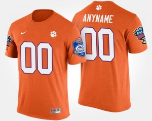Men #00 CFP Champs Customized T-Shirts Orange Bowl Game Atlantic Coast Conference Sugar Bowl Name and Number T shirt