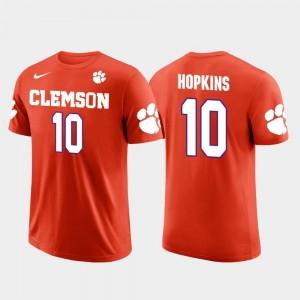 Orange For Men Houston Texans Football Future Stars DeAndre Hopkins Clemson T-Shirt #10