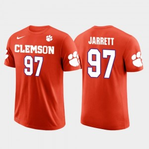 #97 Future Stars Atlanta Falcons Football Grady Jarrett Clemson Tigers T-Shirt For Men Orange