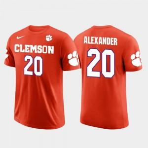 Future Stars #20 Men's Orange Minnesota Vikings Football Mackensie Alexander Clemson National Championship T-Shirt