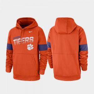 CFP Champs Hoodie Pullover Nike Performance Men's Orange