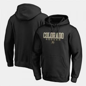 Mens Colorado Hoodie Soccer Fanatics Black True Sport