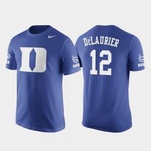 Javin DeLaurier Blue Devils T-Shirt Nike Basketball Replica Mens #12 Future Stars Royal