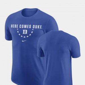 Nike Royal Duke T-Shirt Basketball Team Men